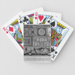 Prospecto de Juan Piranesi- y perfil de la tumba Baraja Cartas De Poker