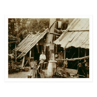 Prospector australiano, c.1880s (foto de la sepia) postal