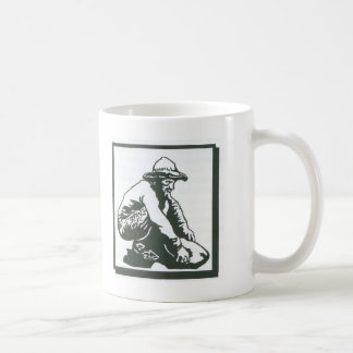 prospector classic white coffee mug