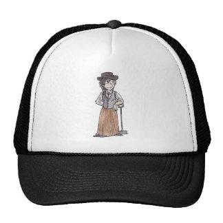 Prospector con la pala gorros bordados