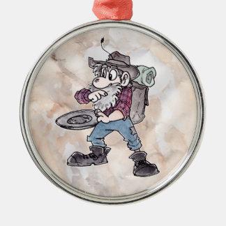 Prospector Metal Ornament
