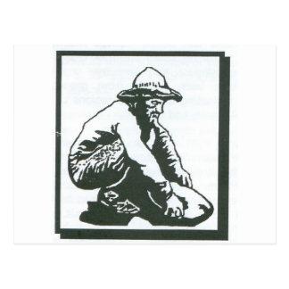 prospector tarjeta postal
