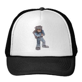 Prospector Winking Trucker Hat