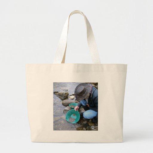 Prospectors Gold Panning Mug Canvas Bags