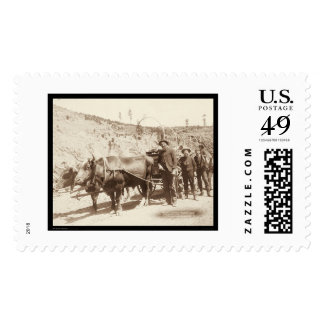 Prospectors with Gold Fever SD 1889 Postage Stamps