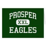 Prosper - Eagles - Senior - Prosper Texas Greeting Cards