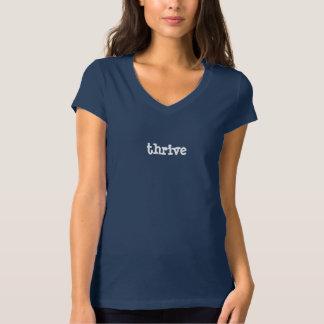 Prospera la camiseta inspirada del traje playera