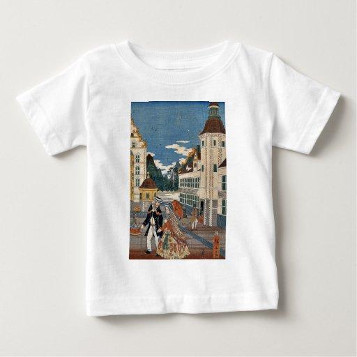 Prosperar América por Utagawa, Hiroshige Playera