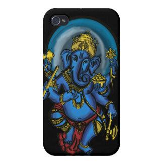 Prosperidad de Ganesh iPhone 4 Protectores