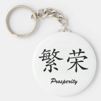 Prosperidad Llavero Redondo Tipo Pin