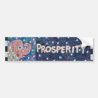 Prosperidad Pegatina Para Auto