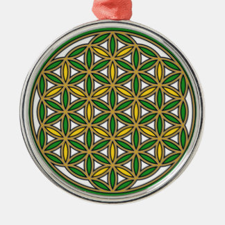 Prosperity10 Round Metal Christmas Ornament
