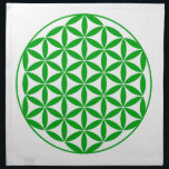"Prosperity11 Napkin<br><div class=""desc"">The flower of Life is used in all religions. It is considered sacred with healing energy within the symbol. Use for your crystal grids,  sacred altars and for your personal use. Use your intuition to use the design for your particular intention or prayer.</div>"