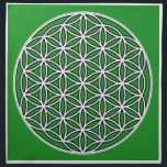 "prosperity5 cloth napkin<br><div class=""desc"">The flower of Life is used in all religions. It is considered sacred with healing energy within the symbol. Use for your crystal grids, sacred altars and for your personal use. Use your intuition to use the design for your particular intention or prayer. This design was created to use for...</div>"