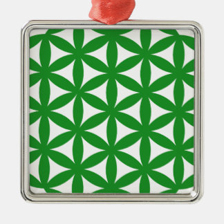 Prosperity7 Square Metal Christmas Ornament
