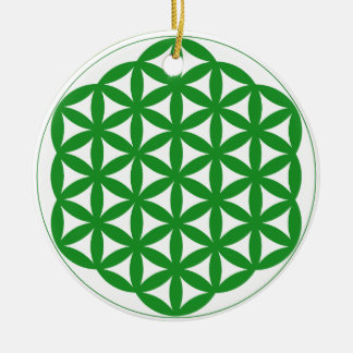 Prosperity7 Double-Sided Ceramic Round Christmas Ornament
