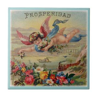 Prosperity Angel prosperidad tile