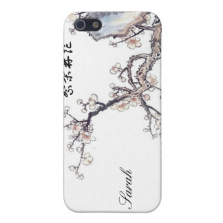 """Prosperity Blossoms"" Chinese Cherry Blossoms iPhone SE/5/5s Cover"