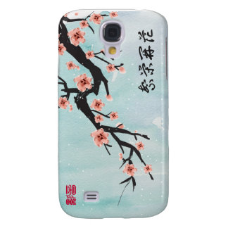 """""""Prosperity Blossoms"""" Chinese Cherry Blossoms Samsung Galaxy S4 Cover"""