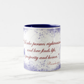 Prosperity Butterfly Mug