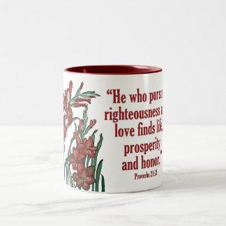 Prosperity Flower Mug