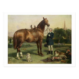 Prosperity (oil on canvas) postcard
