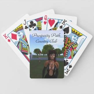 Prosperity Path Country Club Bicycle Playing Cards