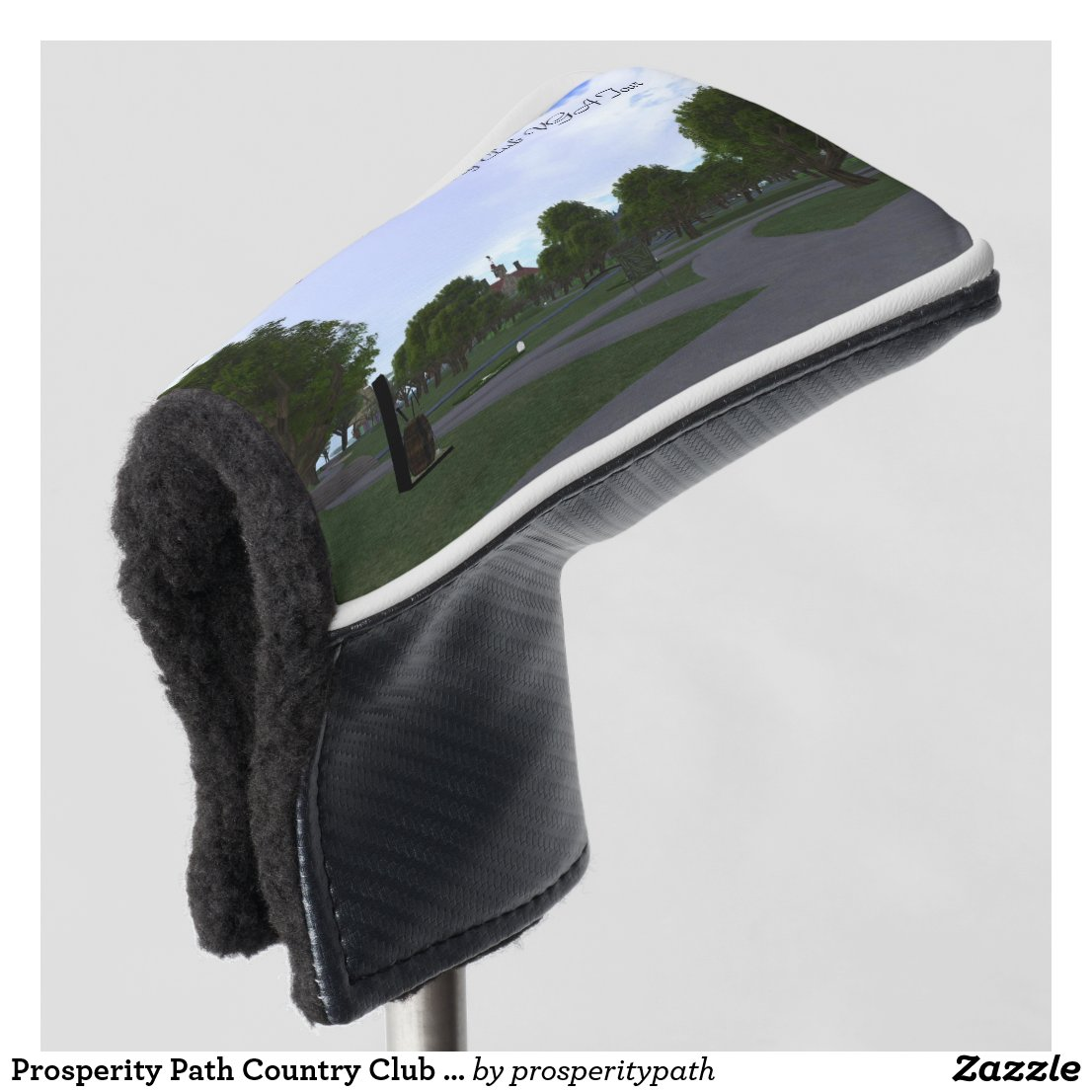 Prosperity Path Country Club VGA Tour Golf Head Cover