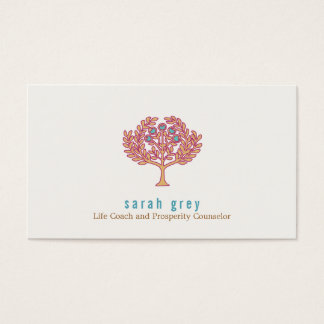 Prosperity Tree Health and Wellness Business Card