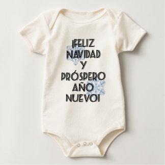 Prospero Ano Nuevo de Feliz Navidad Y Traje De Bebé