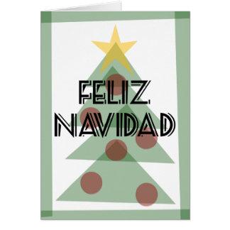 Prospero Ano Nuevo Tarjeta de Feliz Navidad Y