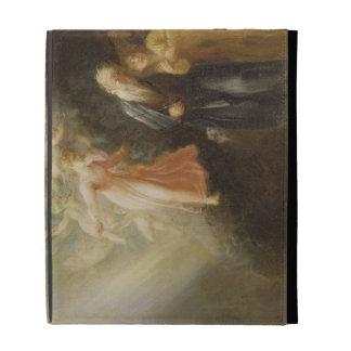 Prospero, Miranda and Ariel, from 'The Tempest', c iPad Folio Cases