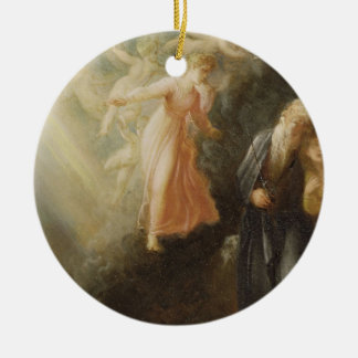 Prospero, Miranda and Ariel, from 'The Tempest', c Ceramic Ornament