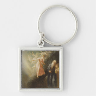Prospero, Miranda and Ariel, from 'The Tempest', c Keychain
