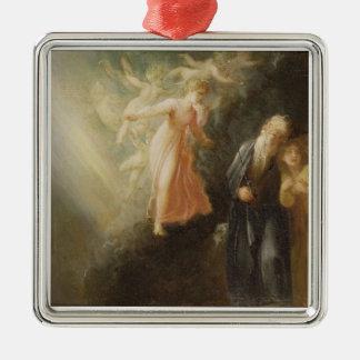 Prospero, Miranda and Ariel, from 'The Tempest', c Metal Ornament