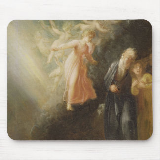 Prospero, Miranda and Ariel, from 'The Tempest', c Mouse Pad