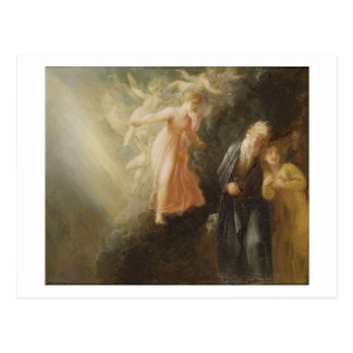 "Prospero, Miranda y Ariel, ""de la tempestad"", c Postal"
