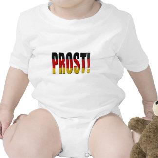 ¡Prost! Bandera alemana Camisetas