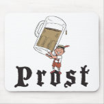 Prost German Drinking Mouse Pad