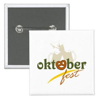 Prost Oktoberfest Pinback Button