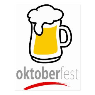 Prost Oktoberfest Tarjetas Postales