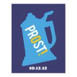 Prost Toast Mens 60th Birthday Party Invitation