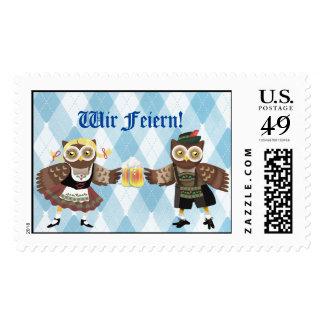 ¡Prost! Wir Feiern Oktoberfest Sello Postal