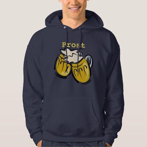 Prost y camiseta de las cervezas