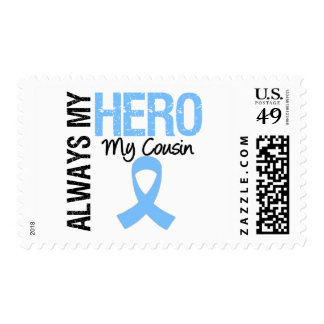 Prostate Cancer Always My Hero My Cousin Postage Stamp