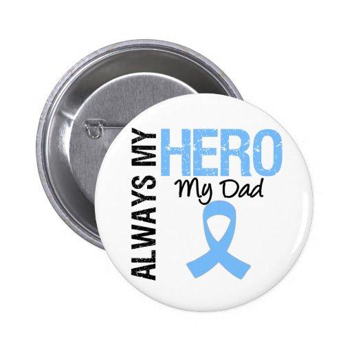 Prostate Cancer Always My Hero My Dad Button