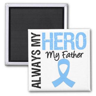Prostate Cancer Always My Hero My Father Fridge Magnet