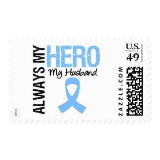 Prostate Cancer Always My Hero My Husband Postage Stamps