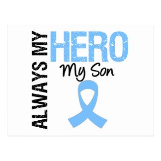 Prostate Cancer Always My Hero My Son Postcards