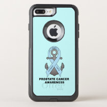 Prostate Cancer Anchor of Hope OtterBox Commuter iPhone 8 Plus/7 Plus Case